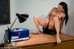 Sexmachines. MILF gets machine nailed in - XXX Dessert - Picture 10