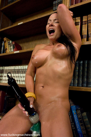 Sexmachines. MILF gets machine nailed in - XXX Dessert - Picture 11