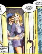 Porn comics. Jerkoff story.