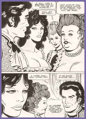 Cartoonporn. The second Casanova's adven - XXX Dessert - Picture 4