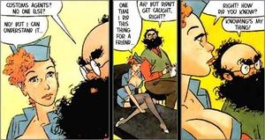 Cartoon sex porn. Stewardess. - XXX Dessert - Picture 3