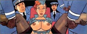Cartoon sex porn. Stewardess. - XXX Dessert - Picture 5
