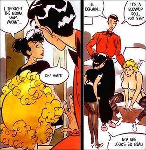 Sexy comics. The alive doll. - XXX Dessert - Picture 3