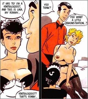 Sexy comics. The alive doll. - XXX Dessert - Picture 4