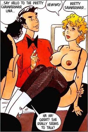 Sexy comics. The alive doll. - XXX Dessert - Picture 5