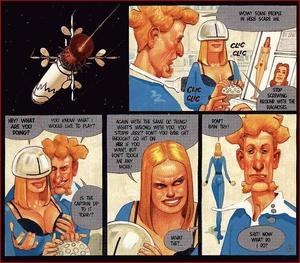 Cartoon sex comics. In the space. - XXX Dessert - Picture 1