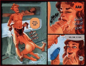 Cartoon sex comics. In the space. - XXX Dessert - Picture 2