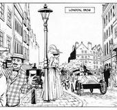 Xxx cartoon. Hot adventures of British gay detective in London.