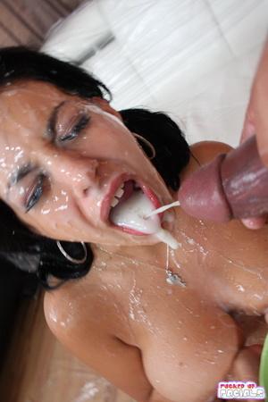 блфзги спермы на лице фото