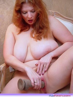 Chubby nude. Toni KatVixen Fucks Herself - XXX Dessert - Picture 6
