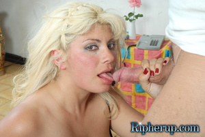 Hard sex. Timid blonde lets horny stud t - XXX Dessert - Picture 9