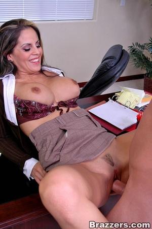 Big tits round. Stunning babe Mikayla ge - XXX Dessert - Picture 12