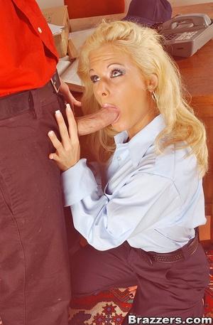 Big boobs. Big titted postwoman getting  - XXX Dessert - Picture 4