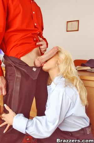 Big boobs. Big titted postwoman getting  - XXX Dessert - Picture 5