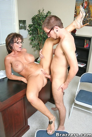 Office fuck. Deauxma takes young mans fa - XXX Dessert - Picture 14