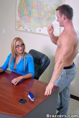 Big tit. Big titted teacher getting poun - XXX Dessert - Picture 5