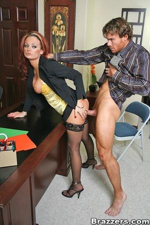 Секретарша русская порно фото