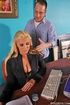 Fuck in office. Big titted sales woman Emiliana staying late at work.