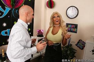 Sex at office. Bridgette B loves fucking - XXX Dessert - Picture 6