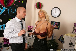 Sex at office. Bridgette B loves fucking - XXX Dessert - Picture 7