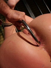 Humiliated. Dominated blonde girl got her - Unique Bondage - Pic 7