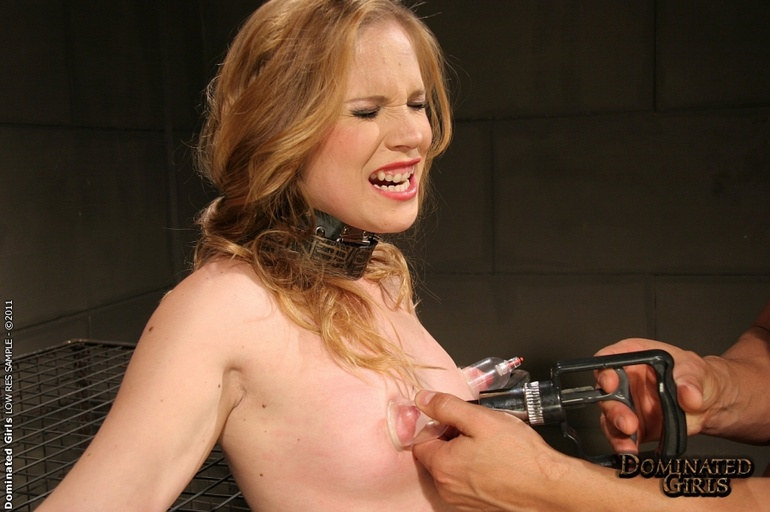 Roughsex. Laurah the caged willing pet got - Unique Bondage - Pic 7