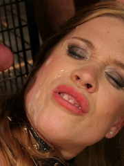 Roughsex. Laurah the caged willing pet got - Unique Bondage - Pic 8
