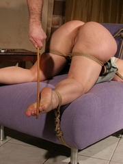 Humiliated. Slutty girl in pink gets anal - Unique Bondage - Pic 8