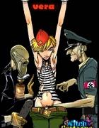 Toon porn comics. Nazi brutes fuck a prisoner.