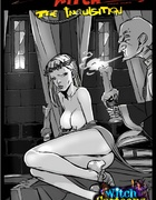 Free toon porn. Kinky priest examines witch's…