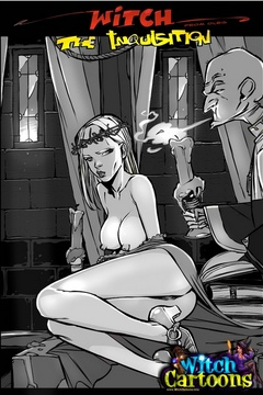Free toon porn. Kinky priest examines witch's body. - Picture 1
