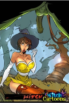 Sexy cartoons. Blowjob for an ogre. - Picture 1