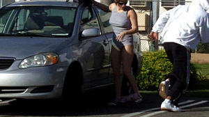 Sex on public. Girls sharked, stripped a - XXX Dessert - Picture 4