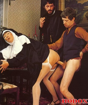 Hairy. Seventies nuns and priests love t - XXX Dessert - Picture 8