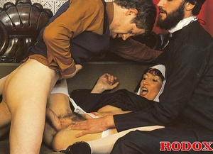 Hairy. Seventies nuns and priests love t - XXX Dessert - Picture 14
