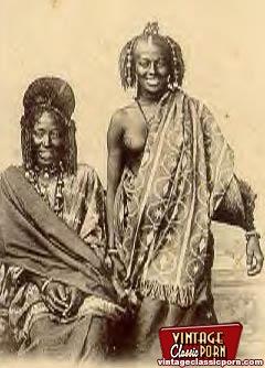 Vintage xxx. Several nude African ladies fr - XXX Dessert - Picture 4