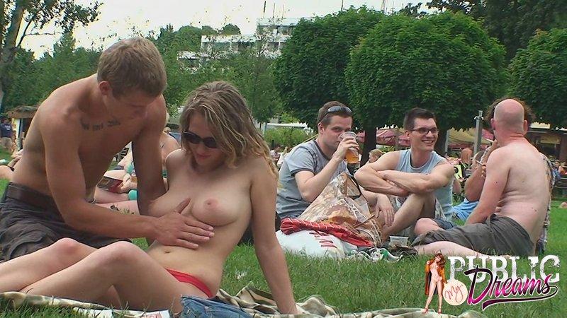 Fuck my wife in public