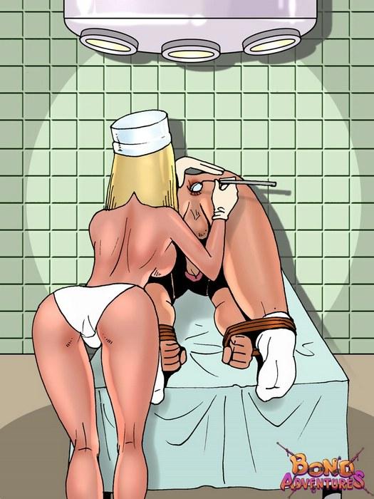 мультики порно медсестер