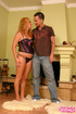 Pregnant galleries. Pregnant blonde gets on her…