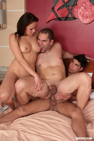 Three some sex submissive couple