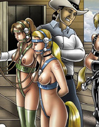 These poor bdsm art slave babes forced to fullfil…