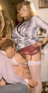 Retro xxx. Seventies lady receives a sticky load…
