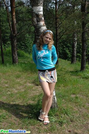 Hunter russian pee
