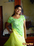 India porn star. Neha in green and yellow Indian…