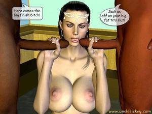 3d cartoon porn. Double Stuffed Bride. - XXX Dessert - Picture 16