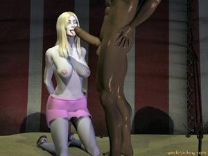 Sex 3d. Interracial. - XXX Dessert - Picture 3
