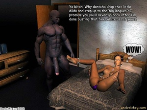 Sex 3d. Interracial. - XXX Dessert - Picture 16