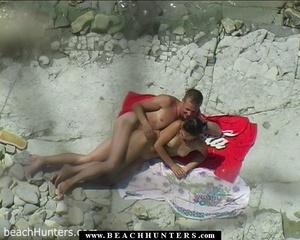 Hidden camera porn. Nude tanned babe fon - XXX Dessert - Picture 15