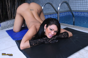 Shemale sex. Cute transsexual Cassia Hea - XXX Dessert - Picture 9
