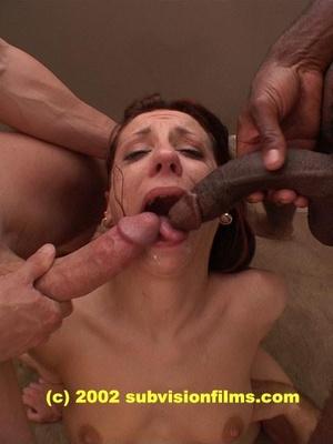 brutal throat cumming